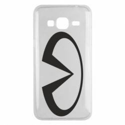 Чехол для Samsung J3 2016 Infiniti logo