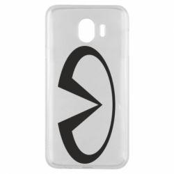 Чехол для Samsung J4 Infiniti logo
