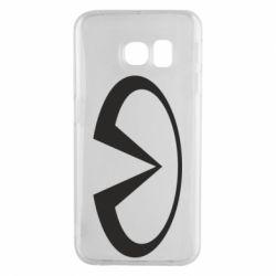 Чехол для Samsung S6 EDGE Infiniti logo