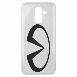 Чехол для Samsung J8 2018 Infiniti logo