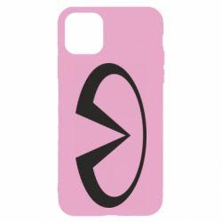 Чехол для iPhone 11 Infiniti logo