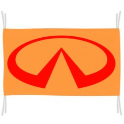 Флаг Infiniti logo