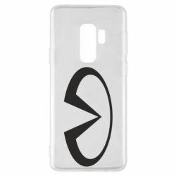 Чехол для Samsung S9+ Infiniti logo