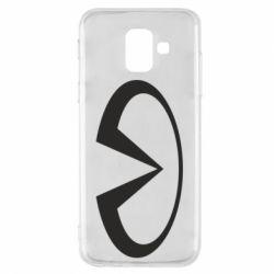 Чехол для Samsung A6 2018 Infiniti logo