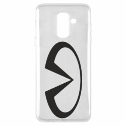 Чехол для Samsung A6+ 2018 Infiniti logo
