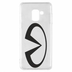 Чехол для Samsung A8 2018 Infiniti logo