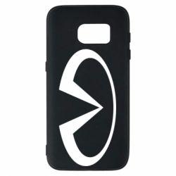 Чехол для Samsung S7 Infiniti logo