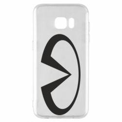 Чехол для Samsung S7 EDGE Infiniti logo