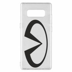 Чехол для Samsung Note 8 Infiniti logo