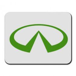 Коврик для мыши Infiniti logo - FatLine