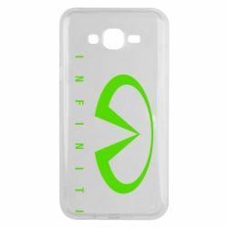 Чехол для Samsung J7 2015 Infiniti