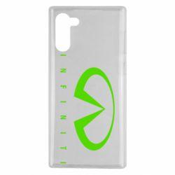 Чехол для Samsung Note 10 Infiniti