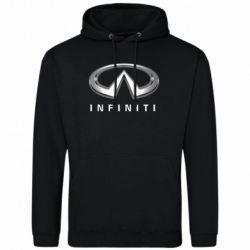 Мужская толстовка Infinity Logo 3D - FatLine