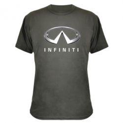 Камуфляжная футболка Infinity Logo 3D - FatLine