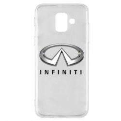 Купить Infiniti, Чехол для Samsung A6 2018 Infinity Logo 3D, FatLine