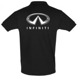 Футболка Поло Infinity Logo 3D - FatLine
