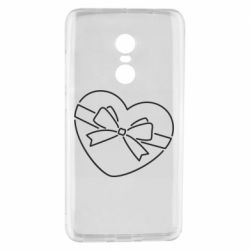 Чехол для Xiaomi Redmi Note 4 Heart with a bow