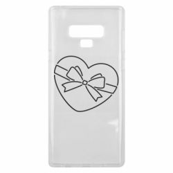 Чохол для Samsung Note 9 Heart with a bow