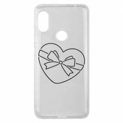 Чехол для Xiaomi Redmi Note 6 Pro Heart with a bow