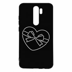 Чехол для Xiaomi Redmi Note 8 Pro Heart with a bow