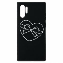 Чохол для Samsung Note 10 Plus Heart with a bow