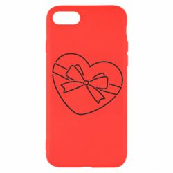 Чохол для iPhone 7 Heart with a bow