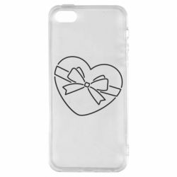 Чохол для iphone 5/5S/SE Heart with a bow
