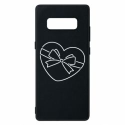 Чохол для Samsung Note 8 Heart with a bow