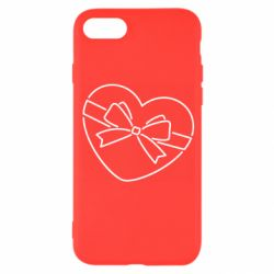 Чохол для iPhone 8 Heart with a bow