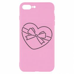 Чохол для iPhone 8 Plus Heart with a bow