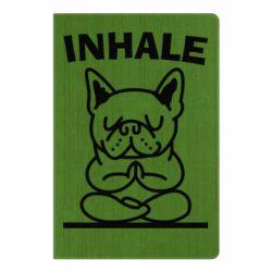 Блокнот А5 Inhale