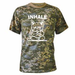 Камуфляжна футболка Inhale