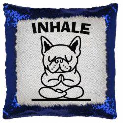 Подушка-хамелеон Inhale