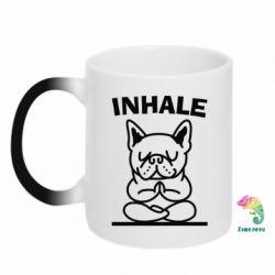 Кружка-хамелеон Inhale