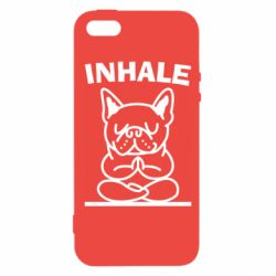 Чохол для iphone 5/5S/SE Inhale