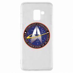 Чохол для Samsung A8+ 2018 Inited Federation of Planets