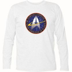 Футболка с длинным рукавом Inited Federation of Planets - FatLine