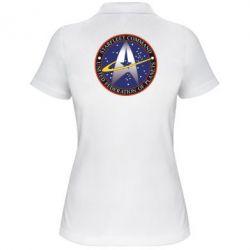 Женская футболка поло Inited Federation of Planets - FatLine