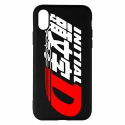 Чохол для iPhone X/Xs Initial d fifth stage