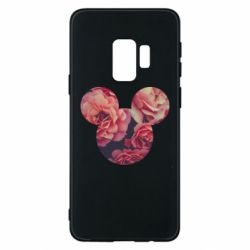 Чохол для Samsung S9 Inner world flowers mickey mouse