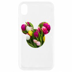 Чохол для iPhone XR Inner world flowers mickey mouse