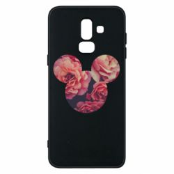 Чохол для Samsung J8 2018 Inner world flowers mickey mouse