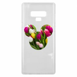 Чохол для Samsung Note 9 Inner world flowers mickey mouse