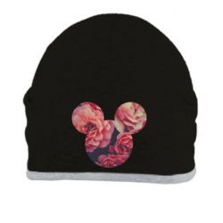 Шапка Inner world flowers mickey mouse