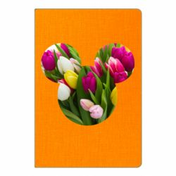 Блокнот А5 Inner world flowers mickey mouse
