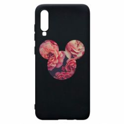 Чохол для Samsung A70 Inner world flowers mickey mouse