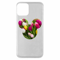 Чохол для iPhone 11 Inner world flowers mickey mouse