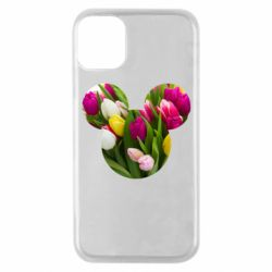 Чохол для iPhone 11 Pro Inner world flowers mickey mouse