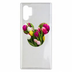 Чохол для Samsung Note 10 Plus Inner world flowers mickey mouse
