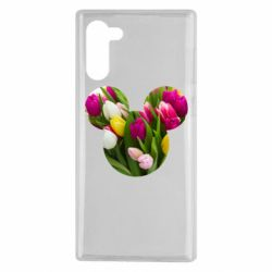 Чохол для Samsung Note 10 Inner world flowers mickey mouse